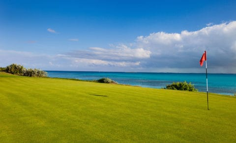 Golf Course Ocean View