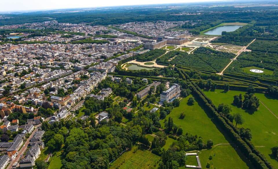 Trianon-Palace-Versailles---Aerial-View