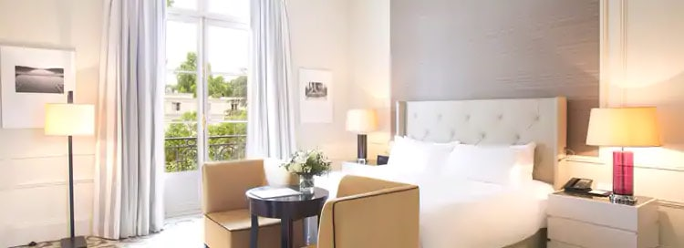 Trianon Palace Versailles King Deluxe Room Garden View