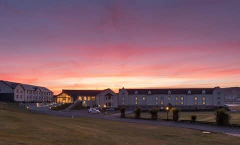 Rosapenna-Hotel--Golf-Resort-Aerial-Night